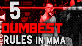 The 5 Dumbest Rules in MMA