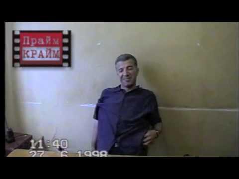 вор в законе Гия Кварацхелия (Лапша) 27.06.98 Тбилиси