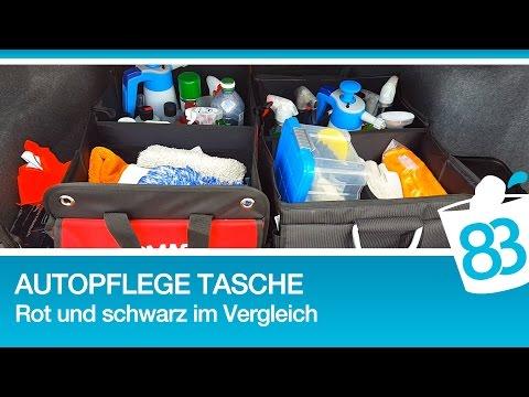 Auto Autopflege Tasche - Tasche für Autopflegeprodukte - Aufbewahrung für die Autopflege - Review2