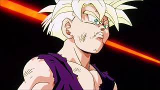 DBZ : Gohan Super Saiyan 2 Transformation w/ The Beast II (Evangelion OST)
