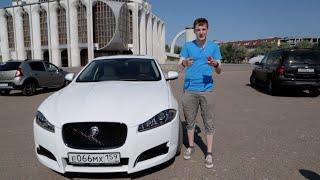 """Jaguar XFS. Live обзор. """"Герой города"""" Великий Новгород. #авторубайкал"""
