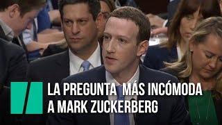 La pregunta más incómoda a Mark Zuckerberg