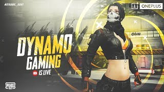 PUBG MOBILE LIVE WITH DYNAMO | EVENING CHILL STREAM | SUBSCRIBE & JOIN THE GAME