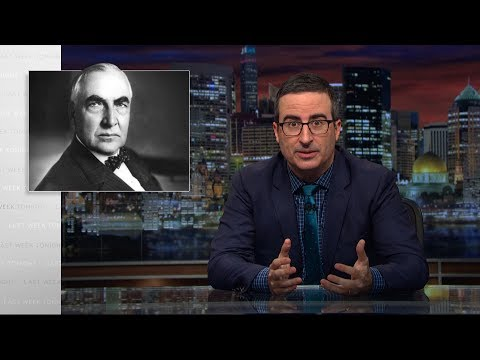 Voskový Harding - Last Week Tonight