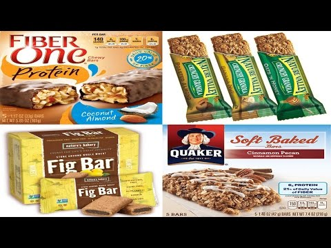 Top 5 Healthy Snack Bars Choices for Diabetics