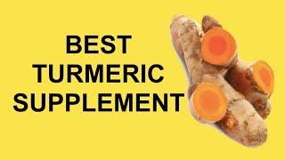 BEST Turmeric Supplement Review (Curcumin Supplements)