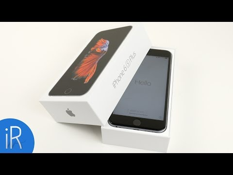 iPhone 6S Plus 128GB SpaceGrau UNBOXING & ERSTER EINDRUCK (deutsch/german)