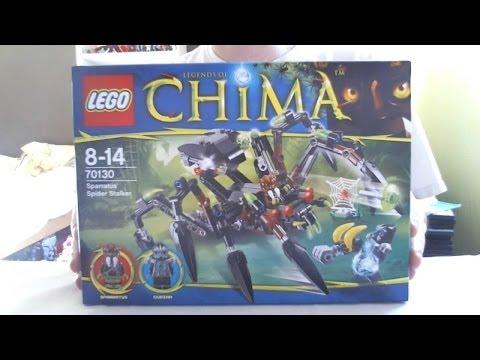 Vidéo LEGO Chima 70130 : Le tank araignée de Sparratus