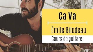 Émile Bilodeau   Ca Va (Cours De Guitare) + Partition