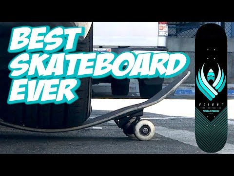 BEST SKATEBOARD EVER ??? POWELL FLIGHT BOARD UNBOXING AND SKATE TEST !!! – NKA VIDS –