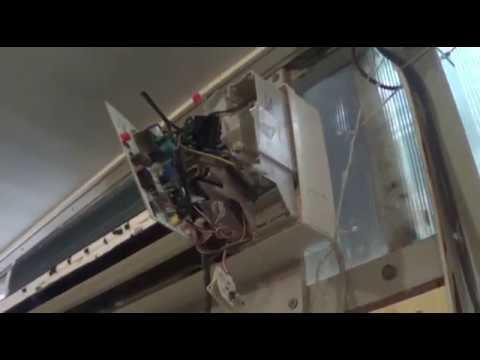ремонт кондиционера своими  руками  (не включался внутренний блок.)