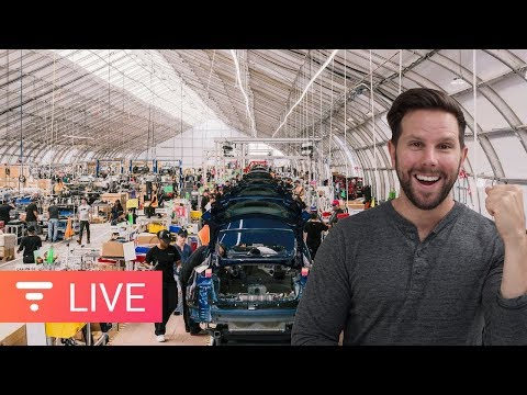 Tesla Producing 5,000 Model 3 Per Week, Let's Talk About It... [live]
