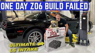 Building The HOLY GRAIL Corvette In ONE DAY Backfired