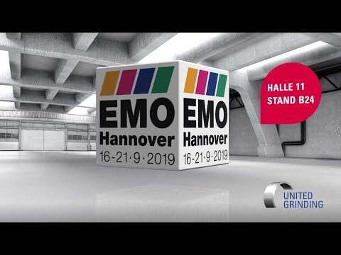 EMO 2019 - UNITED GRINDING - Halle 11, Stand B24
