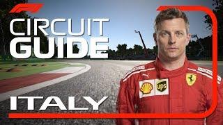 Kimi Raikkonens Virtual Hot Lap Of Monza   Italian Grand Prix