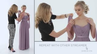 "Convertible Bridesmaid Dress - ""A Little Bit Knotty"" - Maid Your Way"