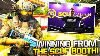 CoD BLACKOUT | i WON A GAME FROM THE SCUF BOOTH AT CWL ANAHEiM!!!! (SOLO WiN)