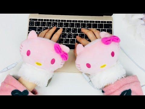 НОВОГОДНИЙ ПОДАРОК 2019  🎄🎁USB перчатки с подогревом! детям девушке коллеге👍🎉еИДЕЯ
