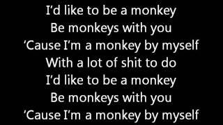 100 Monkeys - The Monkey Song (with lyrics)