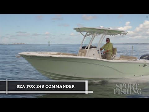 Sea Fox 248 Commander video