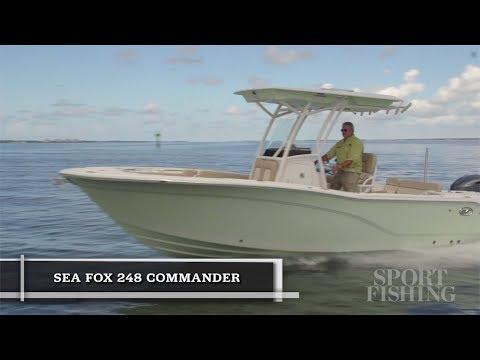 Sea Fox 248 Commander video