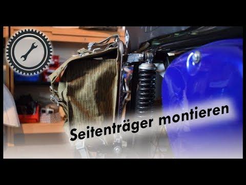 Gepäckträger-Erweiterungen - Seitenträger und Topcase für die S50/S51