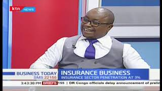 Insurance business : insurance sector penetrations at only 3%