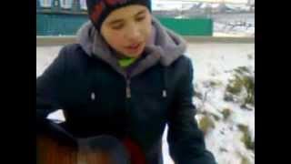 """начинающий бард Айдар Халиуллин!!!песня """"Пачка сигарет""""смотреть до конца!!!"""