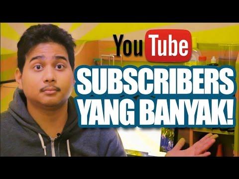 Video Cara Mendapatkan Subscriber - Belajar Youtube