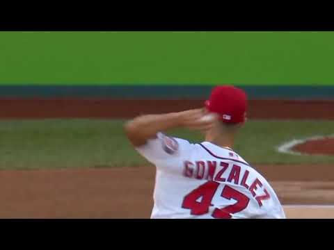 Gio Gonzalez Curveball Slow Motion