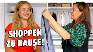 Fashion Stylistin shoppt in meinem Kleiderschrank!