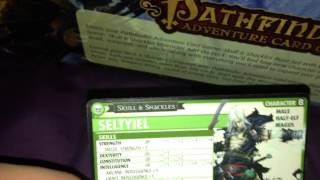 Pathfinder Adventure Card Game Skull & Shackles Un-boxing