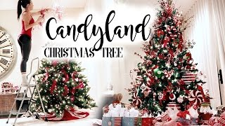 Candyland Christmas Tree