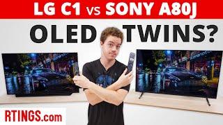 Video: LG C1 vs Sony A80J – OLED Twins