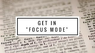 HOW TO FOCUS ON WRITING YOUR BOOK!