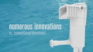 Self cleaning pools venturi skimmer