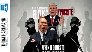 Hypocrisy! NRA Won't Let members bring guns In Convention Center When Trump is Scheduled To Speak