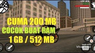 Cuma 200MB ! COCOK BUAT ANDROID 1GB / 512MB RAM - GTA SA LITE ALL GPU