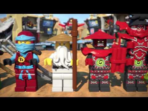 Vidéo LEGO Ninjago 70596 : La grotte du Samouraï X