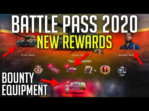 New Battle Pass + New Bounty Equipment in Update 1.8 | World of Tanks Update 1.8 Patch Review