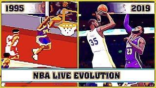 NBA LIVE evolution [1995 - 2019]