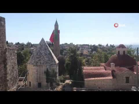 Antalya'da camilerden korona virüs uyarısı