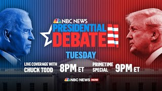 Live: First Presidential Debate of 2020 Election | NBC News NOW