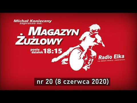 Wideo1: Magazyn Żużlowy 20/2020.06.08 Pożegnanie z Jarkiem Hampelem