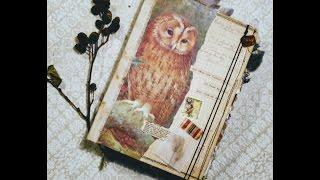 Owl Journal Flip Through