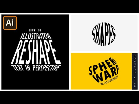 Warp Text in Adobe Illustrator   Make To Top Object   Graphic design