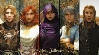 Skyrim Mods - Dragon Age Origins FollowersTrailer