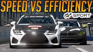 Gran Turismo Sport: Speed Vs Fuel Efficiency