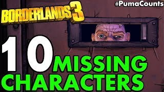 10 Missing Characters from the Borderlands 3 Reveal Trailer that I hope Return in BL3 #PumaCounts