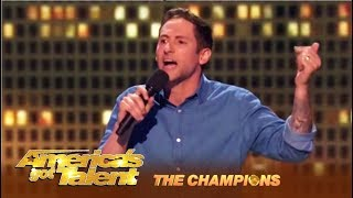 Samuel J. Comroe: The TWITCH Comedian Is Back With Swag! | America's Got Talent: Champions